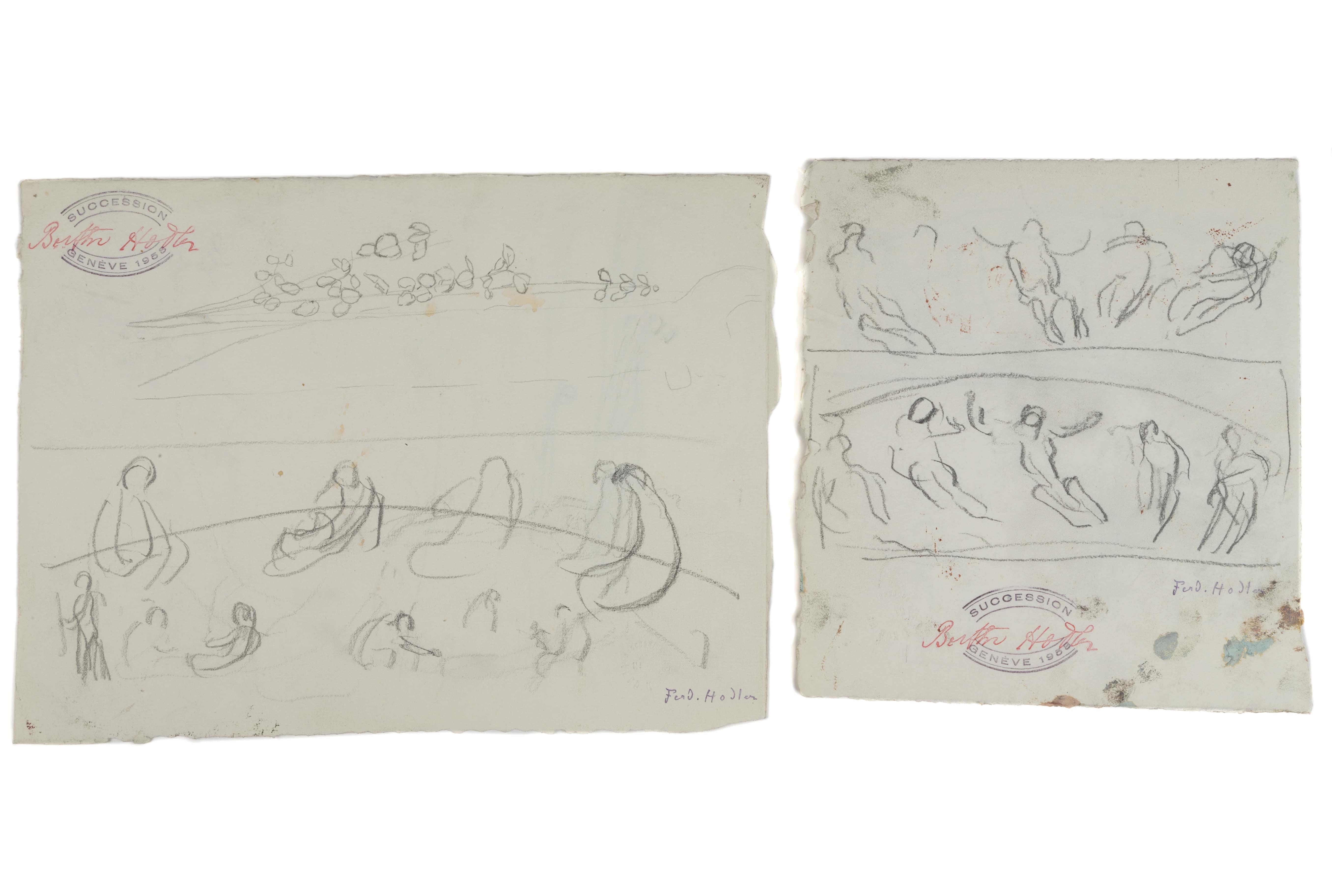 Des oeuvres inédites d'Anker et de Hodler en vente à Genève