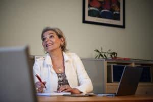 Christine Urfer, fondatrice de PUR PR