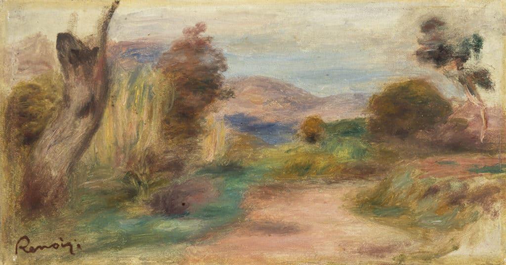 Une oeuvre de Renoir chez Piguet Hôtel des Ventes
